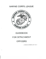 Detachment Guidebook MCL