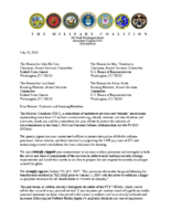 FY2019 NDAA_TMC Letter to House and Senate