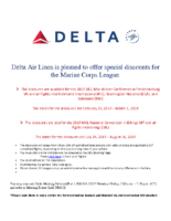 Delta Airlines Discount_MidWinter and Convention