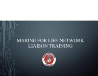 Marine for life network Training