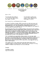 TMC LoS Brown-Brownley's CHAMPVA Children's Care Protection Act (signatures)