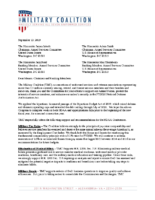 TMC Letter to Conferees FY 2020 NDAA