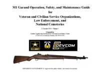 M1 Garand Operation and Maintenance Guide for Non Military Organizations ver5