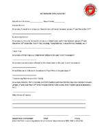 Detachment Annual Report