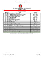 Schedule 2021 National Convention